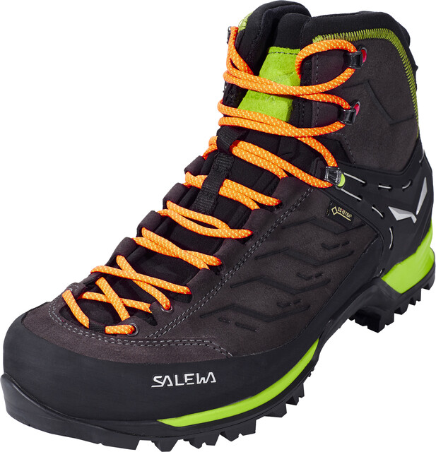 SALEWA MTN Trainer Mid GTX Shoes Herren blacksulphur spring